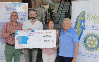 Las camisetas solidarias de Apalliser vuelven a ser un éxito y consiguen 4.000€ para la Asociación TEA.