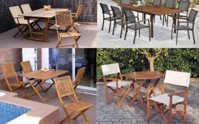 Cómo elegir muebles para la terraza